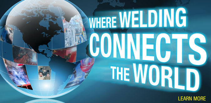Welding Connects Our World Banner 2016