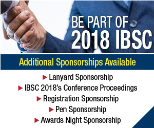 2018 IBSC - Additional Sponsorships Available