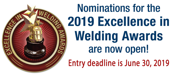 2019 Excellence in Welding Awards