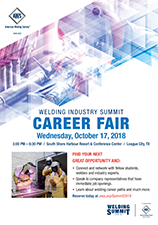 Welding Summit Career Fair