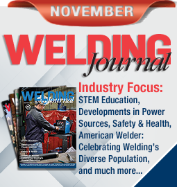 Welding Journal - November 2018