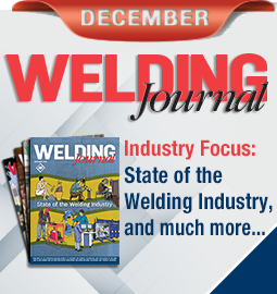 Welding Journal - December 2018