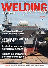 Welding Journal en Espanol - Julio 2020